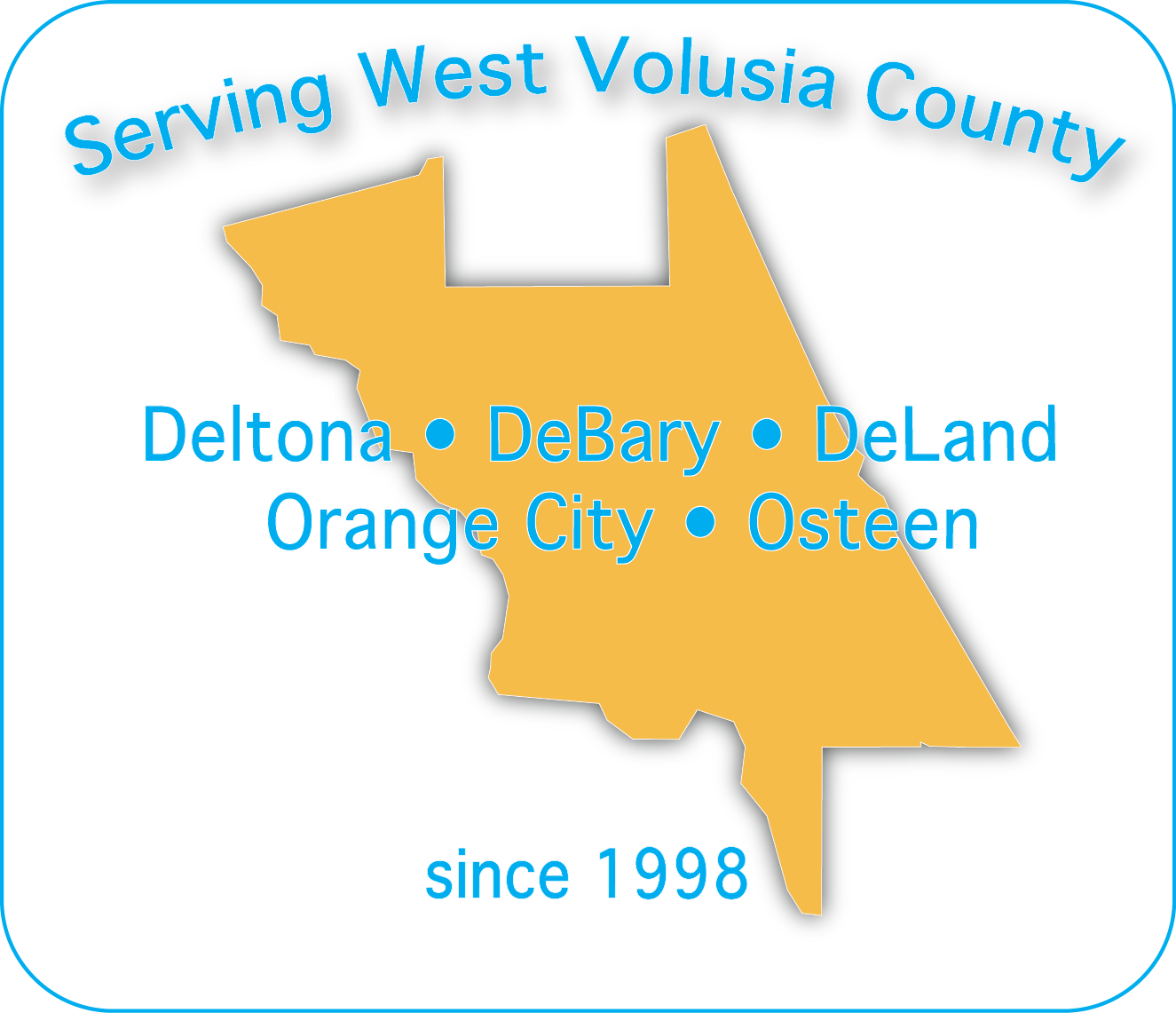 Swim with Becky serves West Volusia communities including Deltona, DeBary, DeLand, Orange City, Osteen.